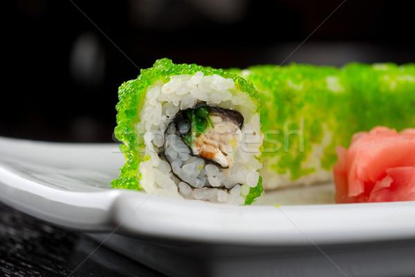 sushi rolls Stock photo © olira