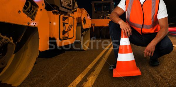 repairing the road Stock photo © olira
