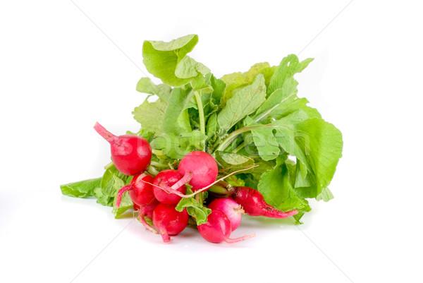 Fresh radishes Stock photo © olira