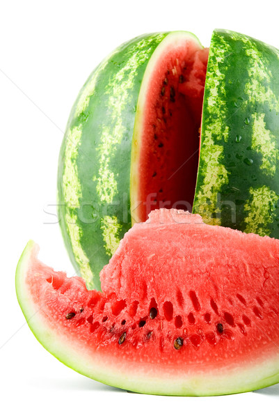 Ripe watermelon  Stock photo © olira