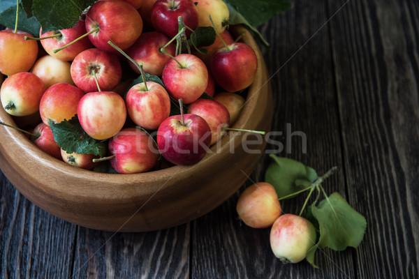 свежие урожай яблоки природы фрукты Сток-фото © olira