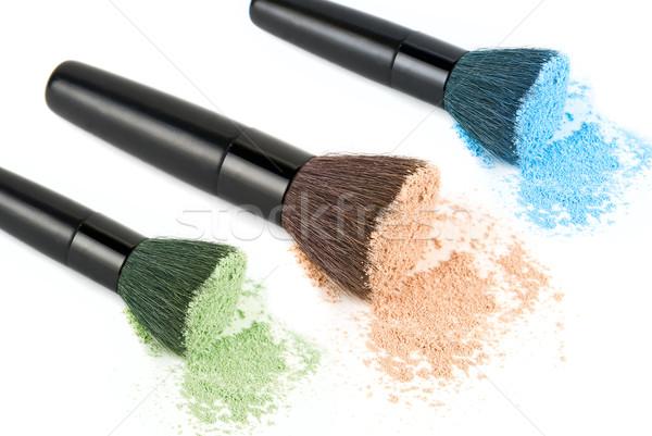 Color powders set Stock photo © olira