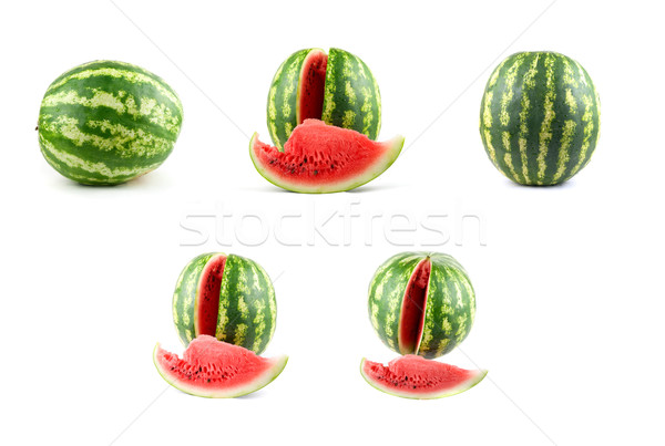 Watermelon set Stock photo © olira
