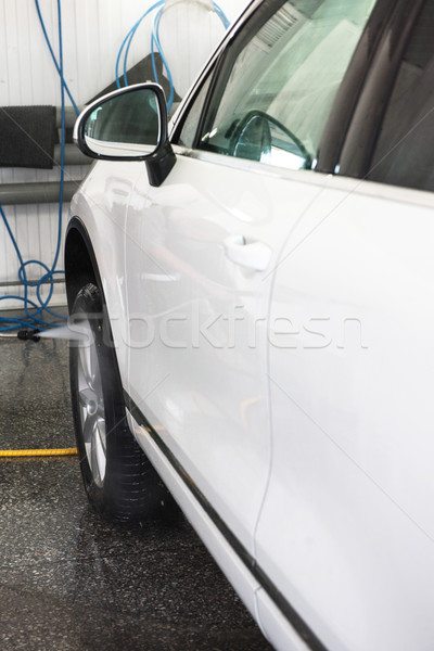 washing car closeup Stock photo © olira
