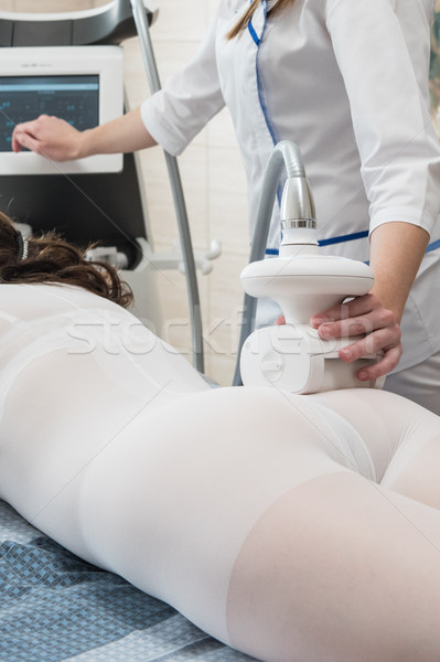 LPG, and body contouring treatment in clinic Stock photo © olira