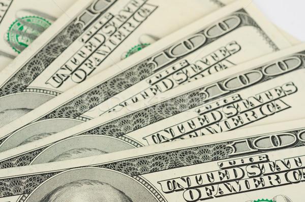долларов мнение доллара банкнота бизнеса Сток-фото © olira