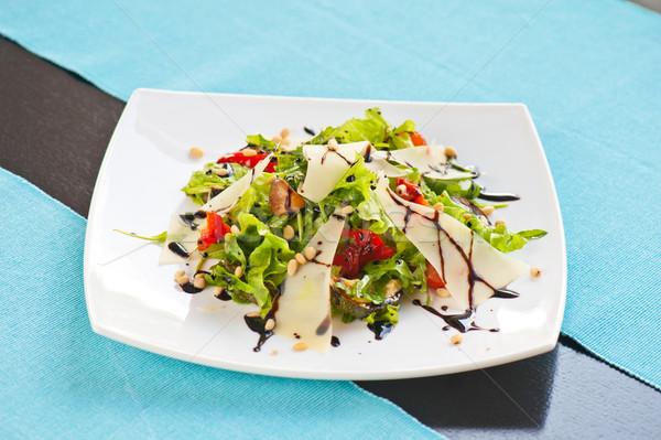 Grelhado legumes salada verão vermelho Foto stock © olira