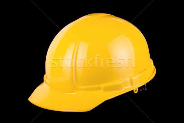 Yellow helmet isolated  Stock photo © olira