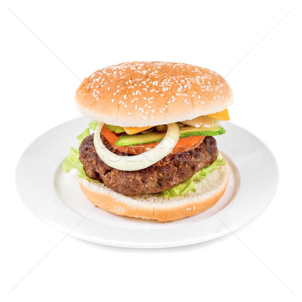 burger Stock photo © olira