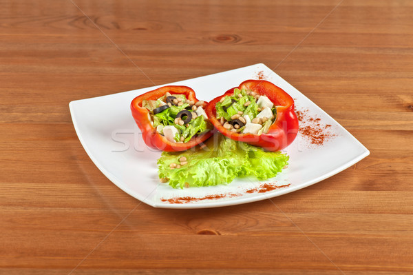Stuffed peppers Stock photo © olira
