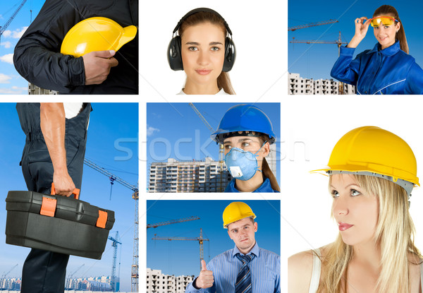 workers set Stock photo © olira
