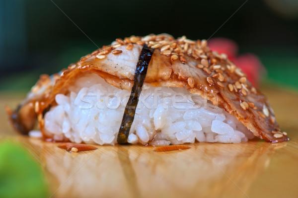 sushi unagi Stock photo © olira