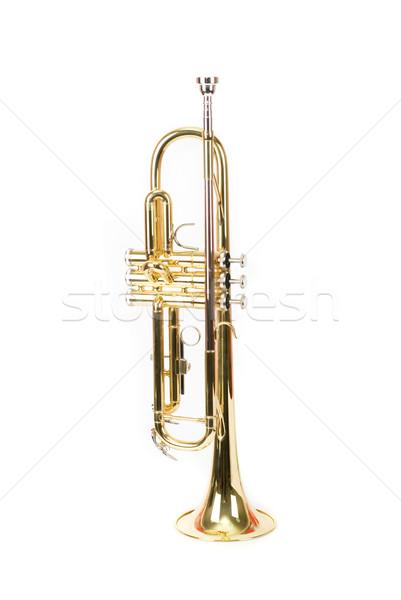 Stock photo: trumpet