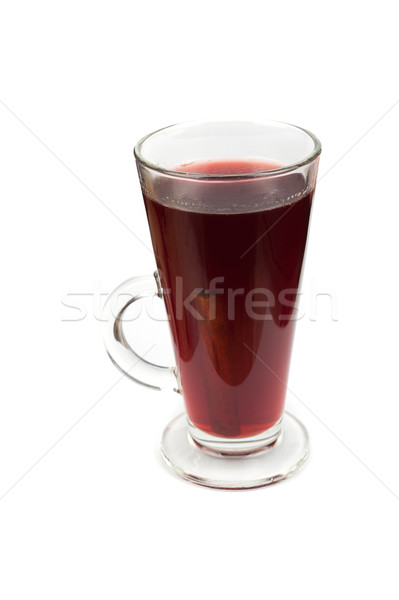 Stock photo: Hot mulled wine