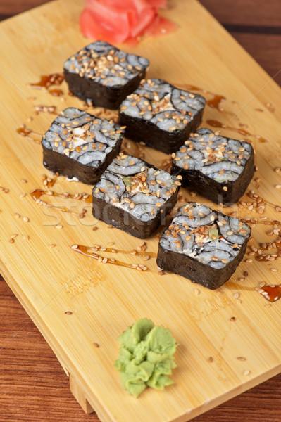 кунжут суши Японский кухня сироп Сток-фото © olira