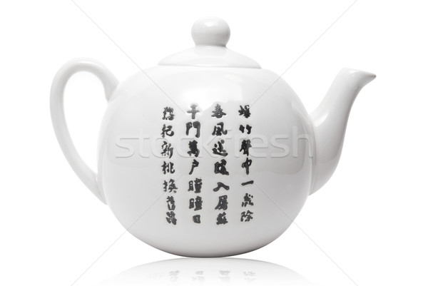 Teapot in asian style Stock photo © olira
