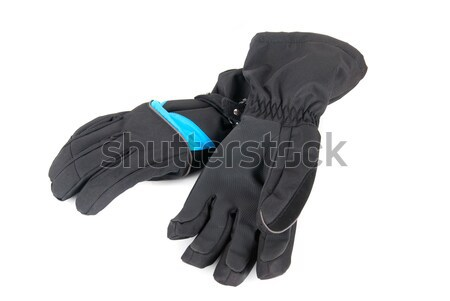 Ski gloves Stock photo © olira