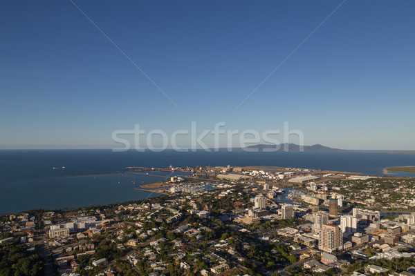 View from Castle Hill in Townsville, Australia Stock photo © oliverfoerstner