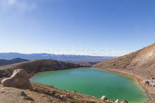 émeraude parc nouvelle nord île Rock Photo stock © oliverfoerstner