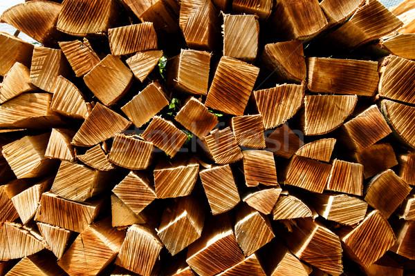 Log Pile Stock photo © oliverfoerstner