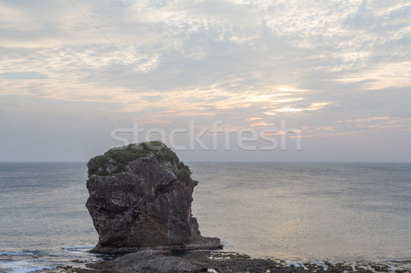 Sail Rock in Kenting National Park, Taiwan Stock photo © oliverfoerstner