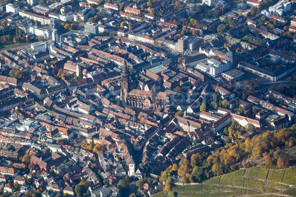 Germania città centro chiesa viaggio Foto d'archivio © oliverfoerstner