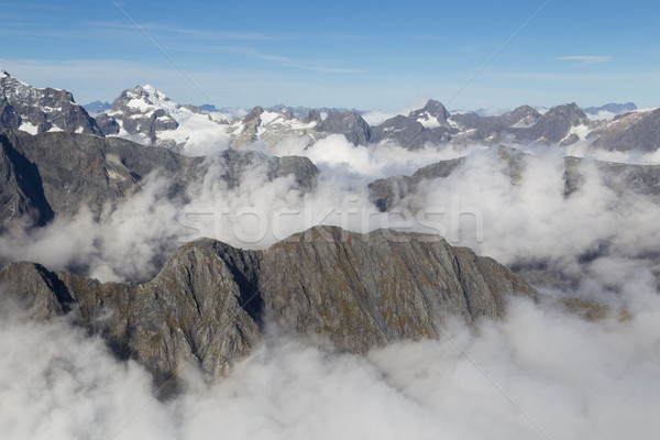 Aerial view Mount Aspiring National Park Stock photo © oliverfoerstner