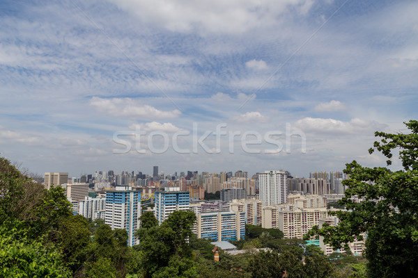 View from Mount Fabor Singapore Stock photo © oliverfoerstner