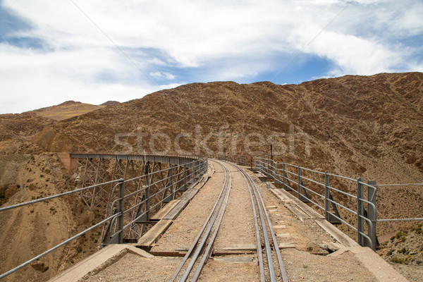 Argentina nord-ovest costruzione panorama metal viaggio Foto d'archivio © oliverfoerstner