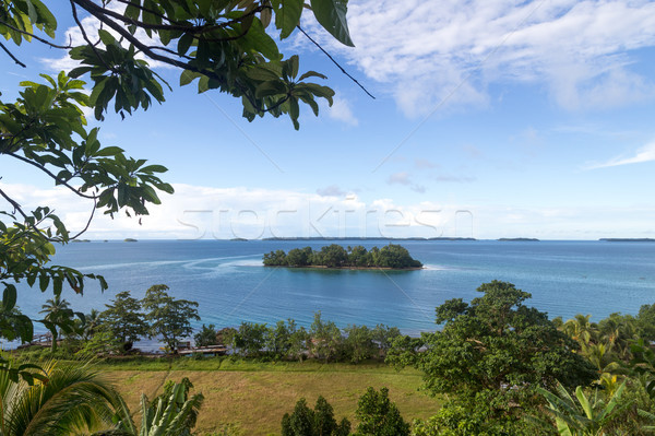 Marovo Lagoon in Solomon Islands Stock photo © oliverfoerstner