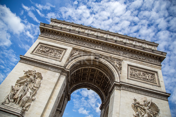 Stock photo: Arc de Triomphe in Paris