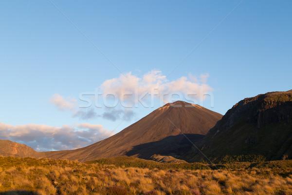 Vista nuevos naturaleza paisaje montana rock Foto stock © oliverfoerstner