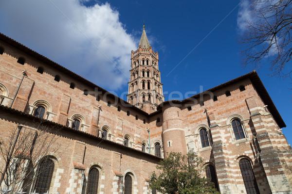 Basilica Saint-Sernin in Toulouse, France Stock photo © oliverfoerstner