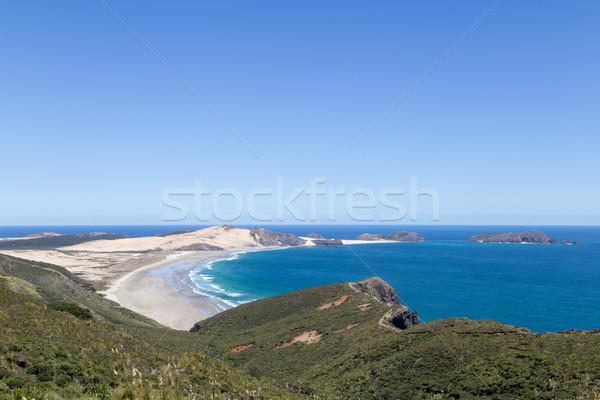 Neozelandese 19 2015 costa panorama settentrionale Foto d'archivio © oliverfoerstner