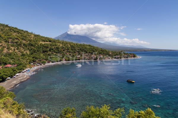 Amed Bay in Bali Stock photo © oliverfoerstner