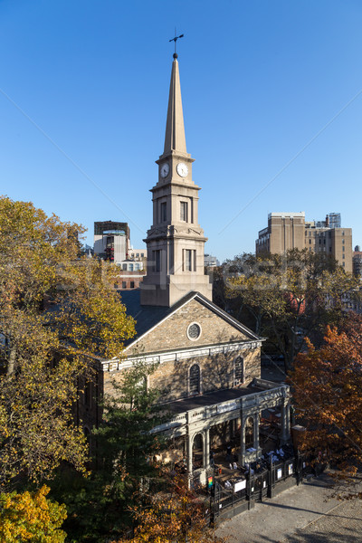 St. Marks Church-In-The-Bowery in New York Stock photo © oliverfoerstner
