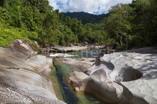 Babinda boulders in Queensland, Australia Stock photo © oliverfoerstner