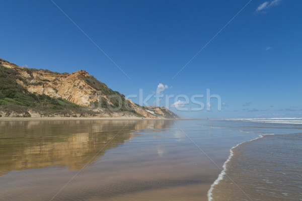 Baylys Beach on the North Island, New Zealand Stock photo © oliverfoerstner