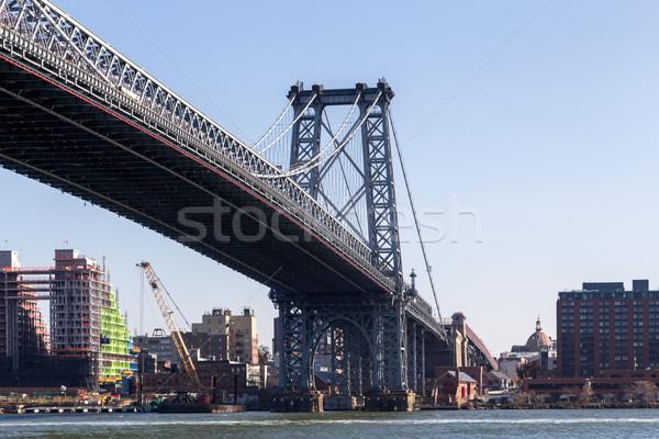 Ponte New York view New York City acqua strada Foto d'archivio © oliverfoerstner