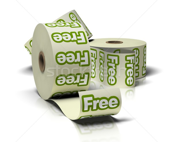 Free set of stickers Stock photo © olivier_le_moal