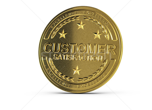 Stock photo: Excellent Customer Relationship Management, Award