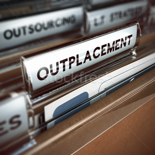 Outplacement Concept Stock photo © olivier_le_moal