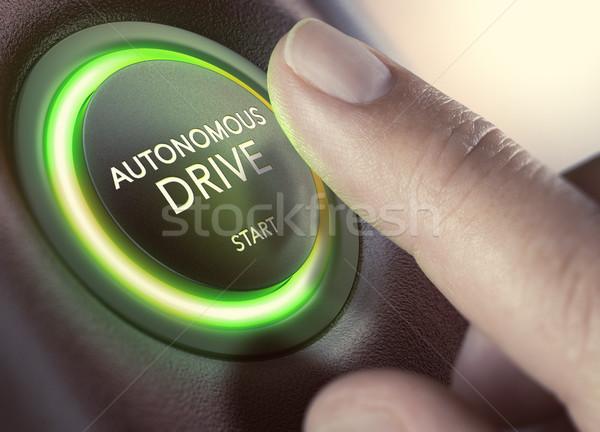 Autonomous Drive, Self-Driving Vehicle Stock photo © olivier_le_moal