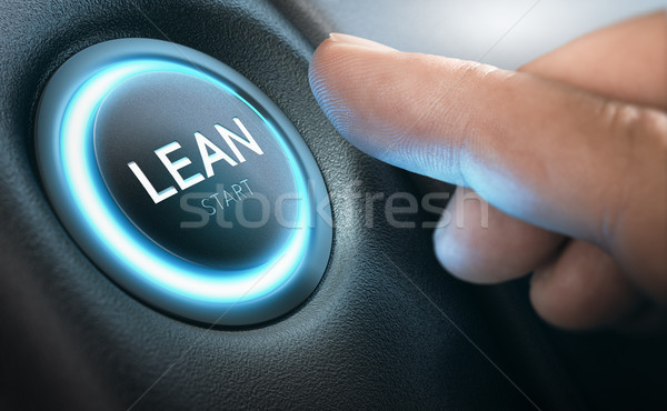 Lean Transformation and Management Concept Stock photo © olivier_le_moal