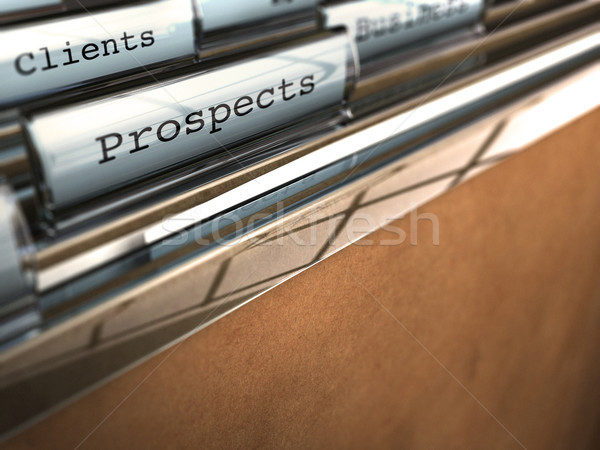 turning prospect to client Stock photo © olivier_le_moal