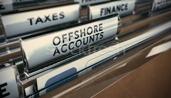 Tax Evasion, Offshore Account Stock photo © olivier_le_moal