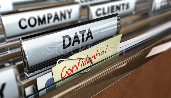 Company Data Protection Stock photo © olivier_le_moal