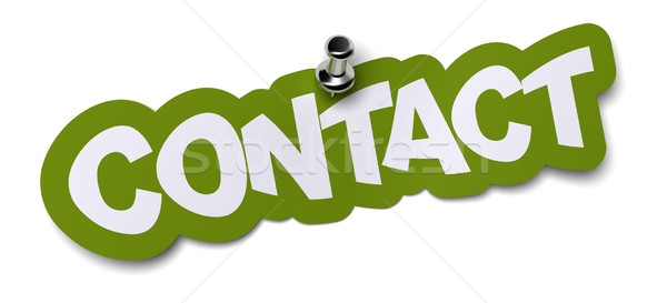 contact Stock photo © olivier_le_moal