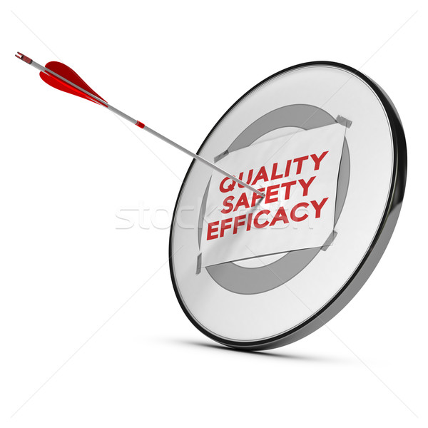 quality, safety, efficacy motivation Stock photo © olivier_le_moal