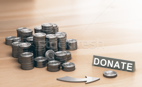 Philanthropy Concept, Donation for Charitable Purposes Stock photo © olivier_le_moal